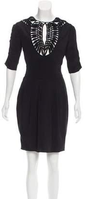 Temperley London Silk Cutout Dress