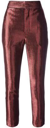 Haider Ackermann Phoenix Gun cropped trousers