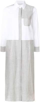 Max Mara paneled shirt dress