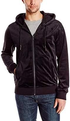 GUESS Men's Velvet Hoody Sweatshirt