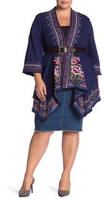 Johnny Was Tiwa Heavy Linen Coat (Plus Size)
