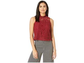 BB Dakota Up To Here Sleeveless Lace Top