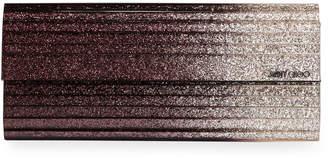 Jimmy Choo Degrade Glitter Acrylic Clutch Bag