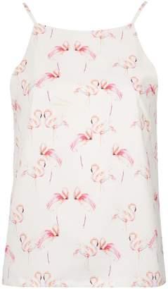 4accc819d9023 Flamingo Print Top - ShopStyle