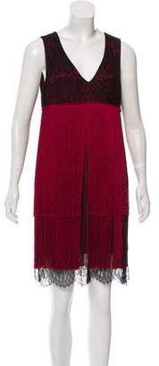 Prabal Gurung Fringe Silk Dress w/ Tags