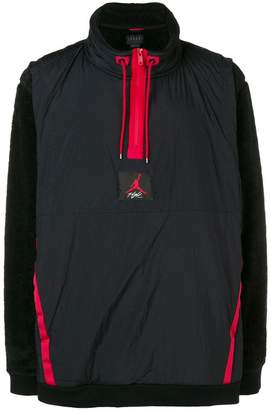 Jordan contrasting sleeves jacket