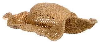 Helen Kaminski Raffia Wide-Brim Hat