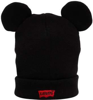 Levi's Logo Beanie Hat W/ Ears