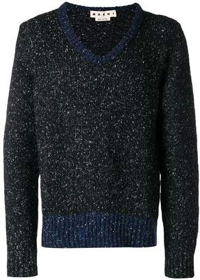 Marni mesh knit sweater