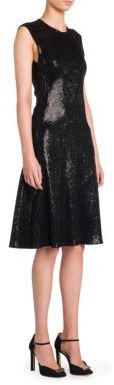 Giorgio Armani Sequin Embellished Dress $3,295 thestylecure.com