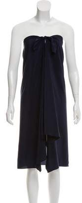 Ralph Lauren Asymmetrical Silk Dress