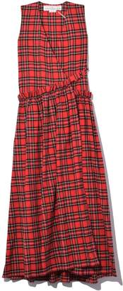 Golden Goose Alba Dress in Red/Black Check
