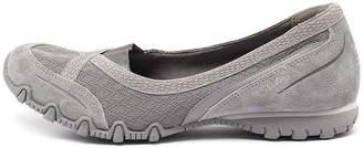 Skechers 49353 bikers-skim Black Shoes Womens Shoes Casual Flat Shoes