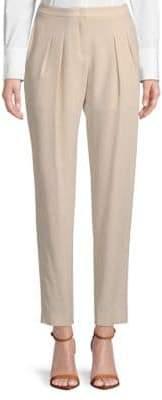 Akris Pleated Silk Pants
