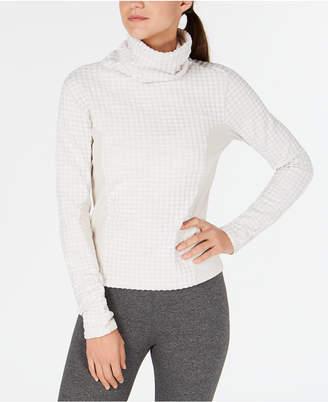 Nike Pro Hyperwarm Mock-Neck Fleece-Lined Top