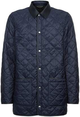 Dunhill Quilted Car Coat