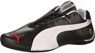 Puma Men's Future Cat Leather Sf -10- Athletic Shoe, Black/White