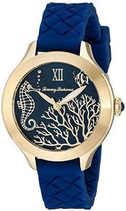 Tommy Bahama  Women's 10018341 Waikiki Reef Analog Display Japanese Quartz Blue Watch $125 thestylecure.com