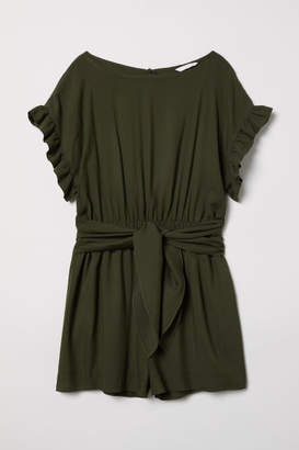 H&M Jumpsuit with Ties - Green