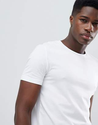 Celio T-Shirt With Stretch In White