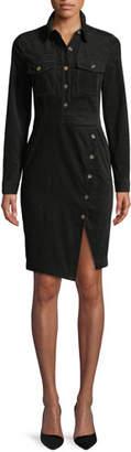 Veronica Beard Britton Long-Sleeve Shirtdress