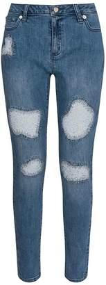 Michael Kors Lace Patch Jeans