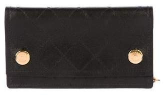 Chanel Quilted Chain Wallet