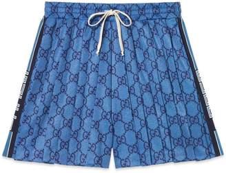 Gucci GG technical jersey shorts