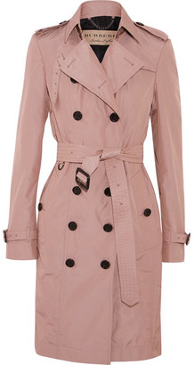 Burberry - The Sandringham Shell Trench Coat - Antique rose $1,595 thestylecure.com