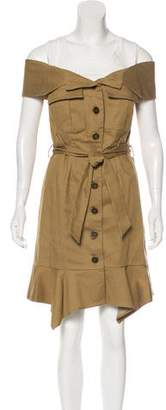 Ted Baker Layered Knee-Length Dress w/ Tags