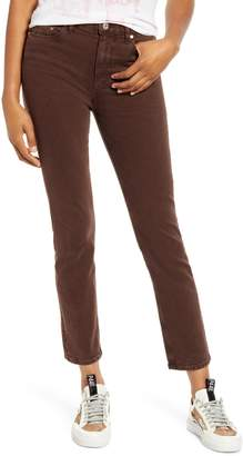 Paige Hoxton High Waist Ankle Slim Fit Jeans