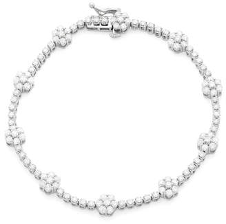 Macy's Wrapped In Love Diamond Bracelet (3 ct. t.w.) in 14k White Gold, Created for