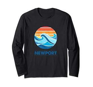 Newport Beach Surf T-Shirt Long Sleeve T-Shirt