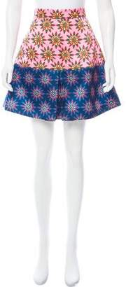 House of Holland Floral Mini Skirt