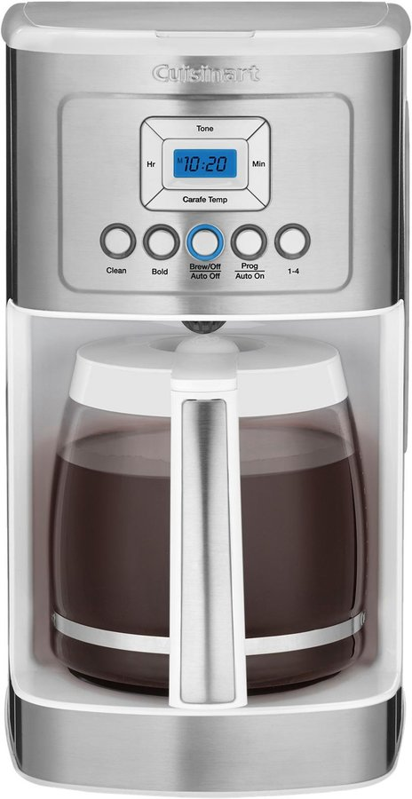 Cuisinart PerfecTemp Programmable Coffee Maker - White - DCC-3200W