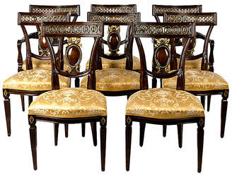 One Kings Lane Vintage European Dining Chairs - Set of 8 - La Maison Supreme