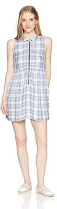 Obey Junior's Angela Collared Sleeveless Dress