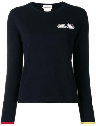 Hello Kitty Chinti & Parker cashmere patch sweater