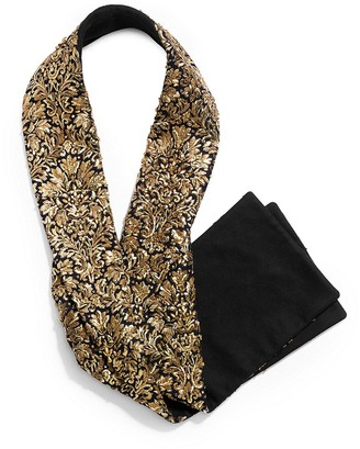 Michael Kors Bouillonne Embroidered Felted Wool Scarf