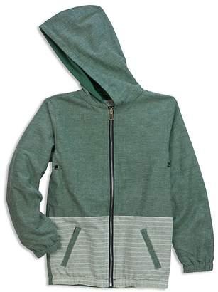 Sovereign Code Boys' Bora Hooded Chambray Jacket - Little Kid, Big Kid