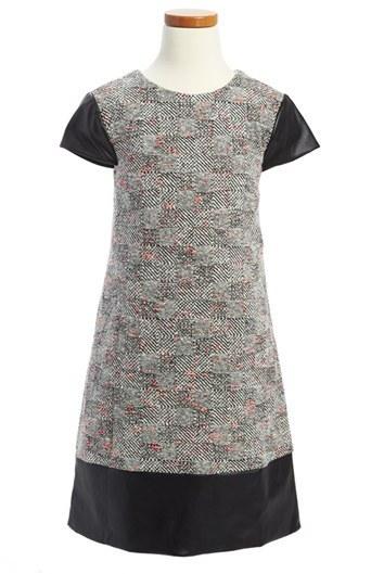 Milly Minis 'Rachel' Dress (Toddler Girls, Little Girls & Big Girls)