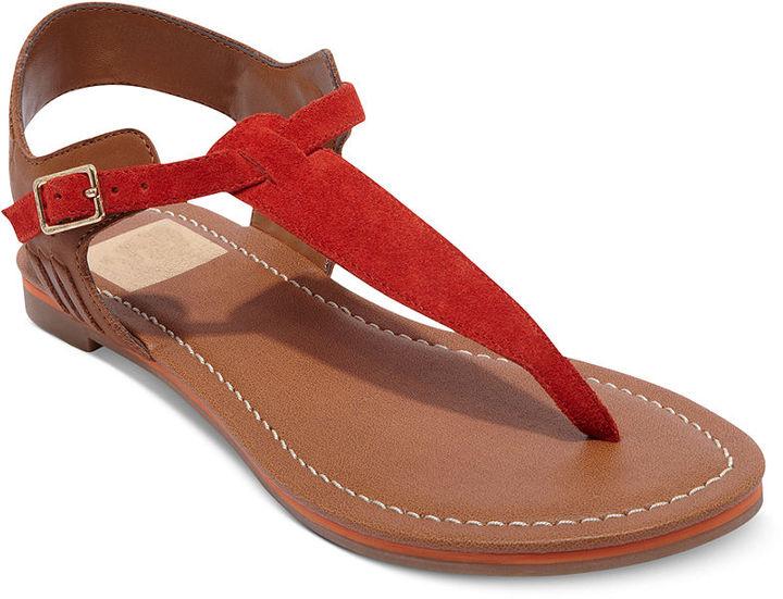 Dolce Vita Shoes, Drayper Flat Thong Sandals