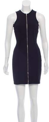 Alexander Wang Zip-Up Mini Dress