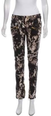 Balmain Bleached Mid-Rise Jeans