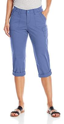 Lee Women's Relaxed Fit Carsen Knit Waist Capri Pant
