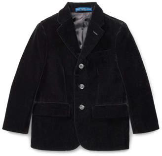 Ralph Lauren Polo II Velvet Blazer, Size 2-3