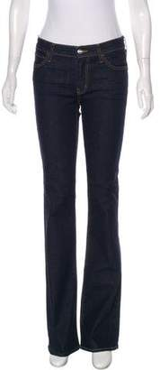 Koral Mid-Rise Bootcut Jeans w/ Tags
