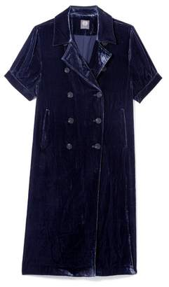 Vince Camuto Velvet Long Jacket