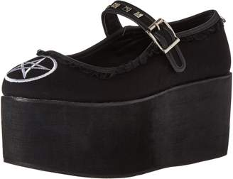 Demonia Women's Cli02-2/Bca Platform Mary Jane