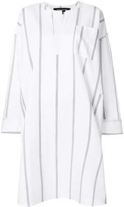 Ter Et Bantine striped split neck dress